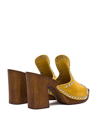 Yellow Amarillo Vestir Para Mujer De Replay Sandalias wyaFq44vB