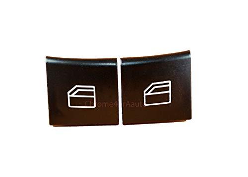 (Danci Parts Compatible Replacement Part for Mercedes C E Window Switch Button Cap (Pair) W204 S204 W212 S212 A207 C207)