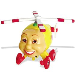 Jay Jay the Jet Plane: Herky Wooden Character