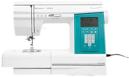 Husqvarna Viking Emerald 203 - Máquina de coser, color blanco y verde: Amazon.es: Hogar