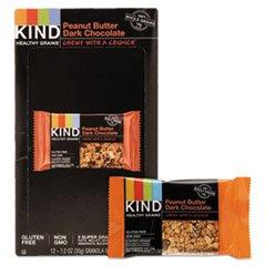 Kind 18083 Healthy Grains Bar44; Peanut Butter Dark Chocolate44; 1.2 oz. by KIND