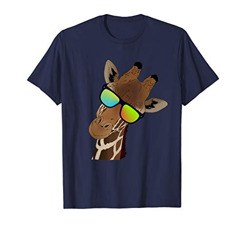 Funny looking Giraffe Tshirt Gift idea for Giraffes & Zebras