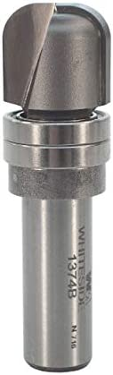 Whiteside Router Bits 1374B Bowl and Tray Bit - 1/4-Inch Radius, 3/4-Inch Cutting Diameter, 5/8-Inch Cutting Length, and 1/2-Inch Shank