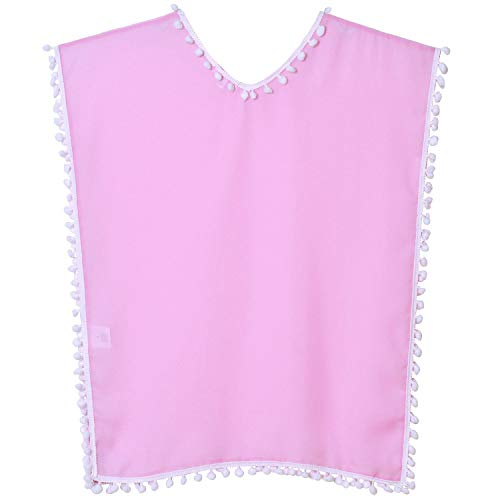 QPANCY Cover Up for Girls Pink Swim Summer