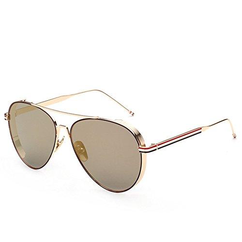 la gafas manera americano sol m personalidad y unisex Gafas del estilo sol de 145 de 142 de NIFG A la 56m de las de europeo pwAC8qTx
