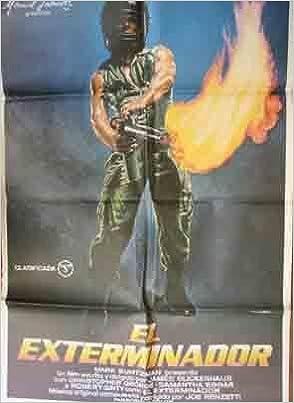 Poster Cartel de Cine: EL EXTERMINADOR: Amazon.es: Sin autor ...