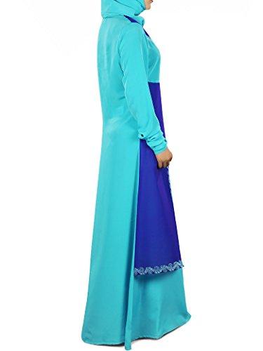 MyBatua Frauen Suheera Dual Layer Abaya
