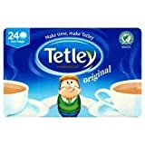 Tetley Softpack 240 Teabags 750G Packs, Set Of 10, A Total Of 2400 Teabags