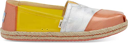 (TOMS Women's Alpargata on Rope Gold Fusion Translucent TPU On Rope 5.5 B US)