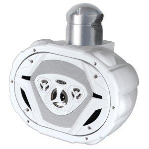 BOSS Audio MRWT69W 550 Watt, 6 x 9 Inch, Full Range, 4 Way, Weatherproof, Marine Grade Roll Cage/Waketower Speaker System (Sold ()