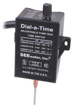 See Water Dial-a-Time™ Sump Pump Switch 120V by See Water, Inc.