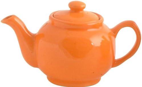 Price & Kensington Orange 2Cup Teapot