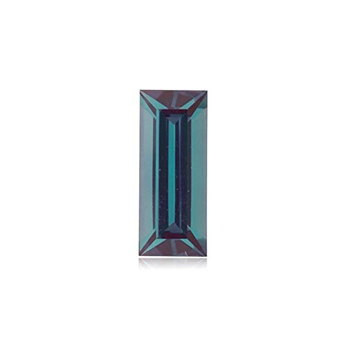 Baguette Loose - Mysticdrop 0.11-0.14 Cts of 4.0x2.0 mm AAA Baguette Cut Lab Created Alexandrite (1 pc) Loose Gemstone