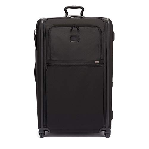 TUMI – Alpha 3 Worldwide Trip Expandable 4 Wheeled Packing Case Suitcase – Rolling Luggage for Men and Women – Black