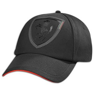 93f2291f68d022 Puma Ferrari Replica Hat (Black) at Amazon Men's Clothing store ...