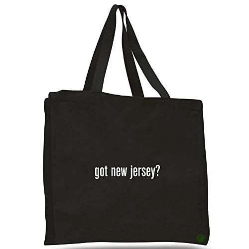Got New Jersey Canvas Tote Bag Cotton messenger b10933 (black) ()