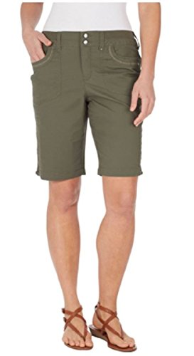 Gloria Vanderbilt Ladies' Beverly Bermuda Short (24w, Whispering Pine) ()