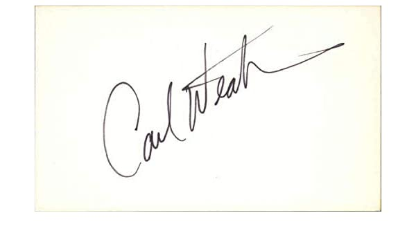 buy popular eb978 5a3ad Carl Weathers Actor Rocky Signed 3