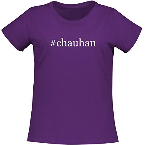 #Chauhan - A Soft & Comfortable Women's Misses Cut T-Shirt, Purple, Medium (Best Of Sunidhi Chauhan)