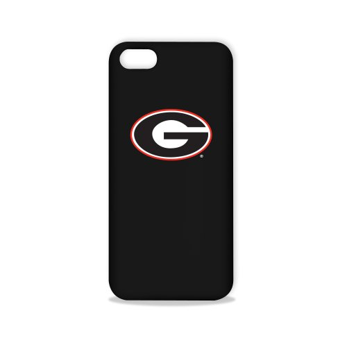 Tribeca Gear FVA7583 Hard Shell Case for iPhone 5 - University of Georgia - 1 Pack - Retail Packaging - Black
