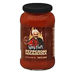 Guy Fieri Pasta Sauce Pepperoni Marinara