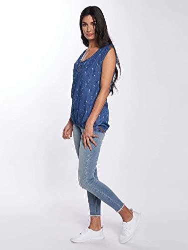Mujeres Alife Superior Azul amp; Blusa Ropa Ella Túnica Kickin wEq1vEWg