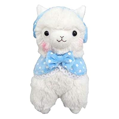 "Llama Girly Alpaca 7"" Prime Plush (White): Toys & Games"