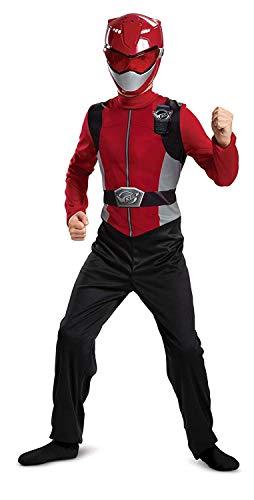 Red Power Ranger Beast Morphers Basic Boys' Costume