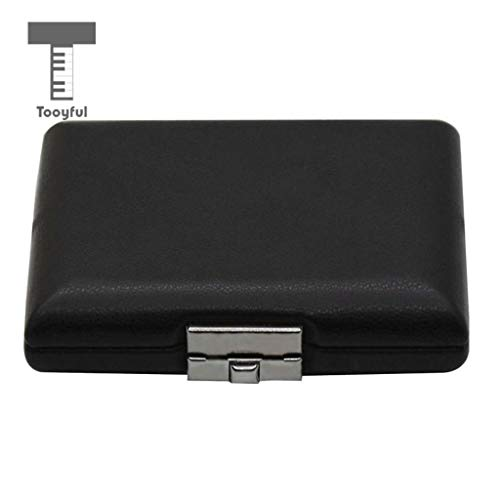 Value-5-Star - PU Leather Oboe Basson Bassoon Reed Case Storage Box Black Woodwind Instruments Parts