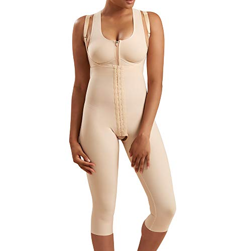 Marena Recovery Mid-Calf-Length Post Surgical Compression Girdle with High-Back        ()
