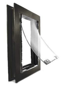 Hale Pet Doors Door Model, Single Flap, Large, Dark Bronze ()