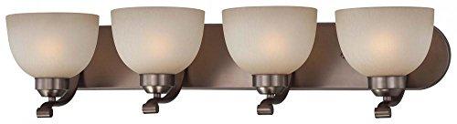 Minka Lavery 5424-281 Paradox 4 Light Bath Lamp, Harvard Court Bronze (Plated) - Light Vanity 4 Court