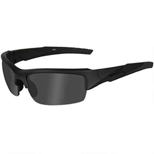 Wiley X Valor Ops Sunglasses, Grey/Black, Polarized Smoke - Sunglasses Ops Black