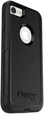 OtterBox COMMUTER SERIES Case for iPhone 7 (ONLY) - Frustration Free Packaging - BLACK