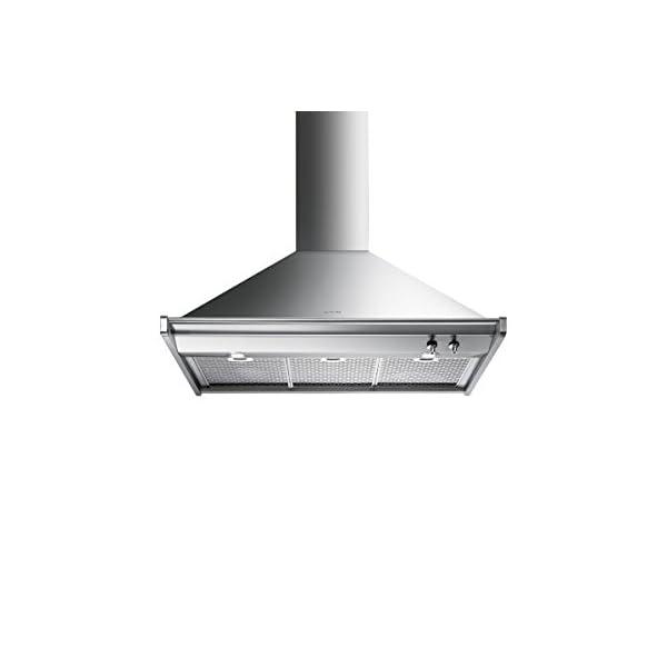 "Smeg KD90XU 36"" Ventilation Hood, Stainless Steel 1"