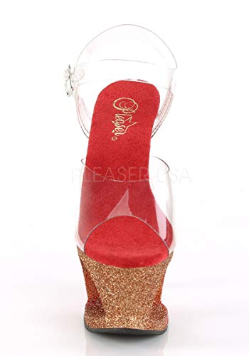 Ombre Pleaser Clr 708OMBRE Rose Gold MOON red ArEYwqr5