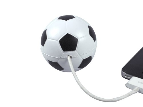 """Cord Buddy """"Sport"""" Charger Cord Holder, Soccer Ball"""
