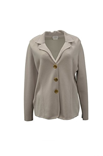 voyage-by-marina-rinaldi-womens-cardigan-knit-unlined-jacket-sz-m-light-greige-80839