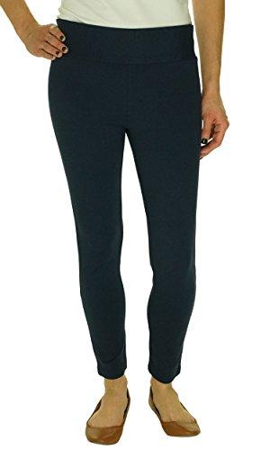 白内障吸収剤買うINC Regular Fit Skinny Leg Ponteレギンス、深いTwilight カラー: ブルー