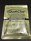 QuikClot military issue hemostatic blood stop agent 100gram pack