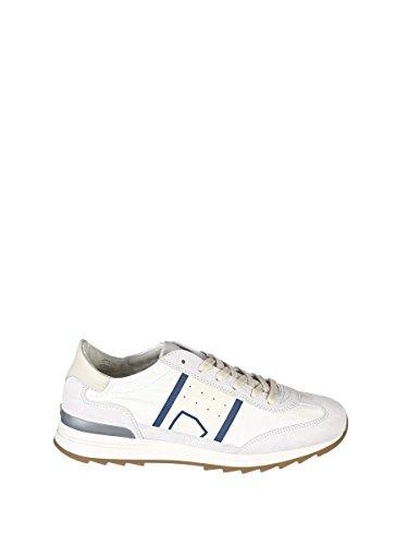 Philippe Uomini Modello Psluv006 Sneakers In Pelle Bianca