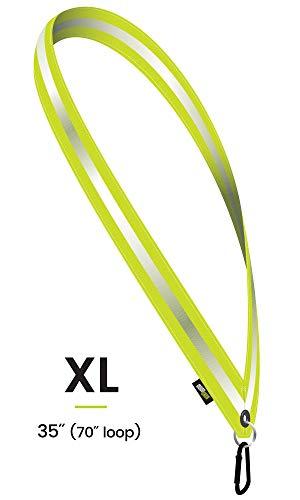 MOONSASH XL Reflective Safety Sash-Band > Reversible, Light