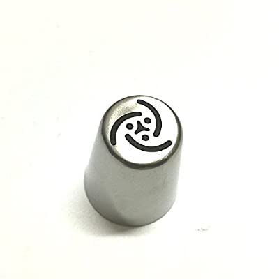 DIY 1PC Big Size Russian Tulip Stainless Steel Icing Piping Nozzles Tips Russia Nozzl DIY Stainless Pastry