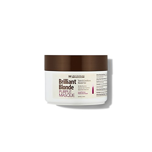 - Brilliant Blonde Purple Mask 8.4 oz (250 ml). Tones & Conditions Blonde Hair. Low pH Formula, Sulfate Free, Gluten Free