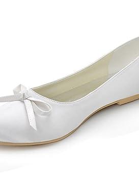 ZQ Zapatos de boda-Planos-Punta Redonda-Boda / Vestido / Fiesta y