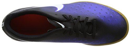 Nike 844409-016, Botas de Fútbol para Hombre Negro (Black / White / Paramount Blue / Hyper Orange)