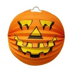 Paper Jack-o-Lantern Halloween Decoration, 9.45 Inches ()