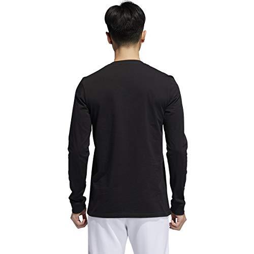 adidas Men's Basic Badge of Sport Long Sleeve Tee 2