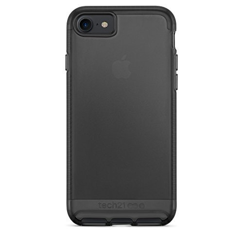 Tech21 Impact Clear Case for iPhone 7 - Smoke Black