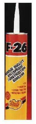 Leech Prod. F26-33-12 Construction Adhesive (Pack of 12)